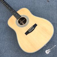 Free delivery, natural wood guitar, acoustic guitar, customizable