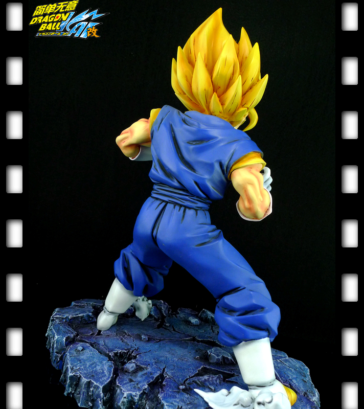 Toys & Hobbies Flight Tracker Dragon Ball Z Dbz Super Saiyan War Damage Ssj Goku Resin Gk Statue Figure 11inch