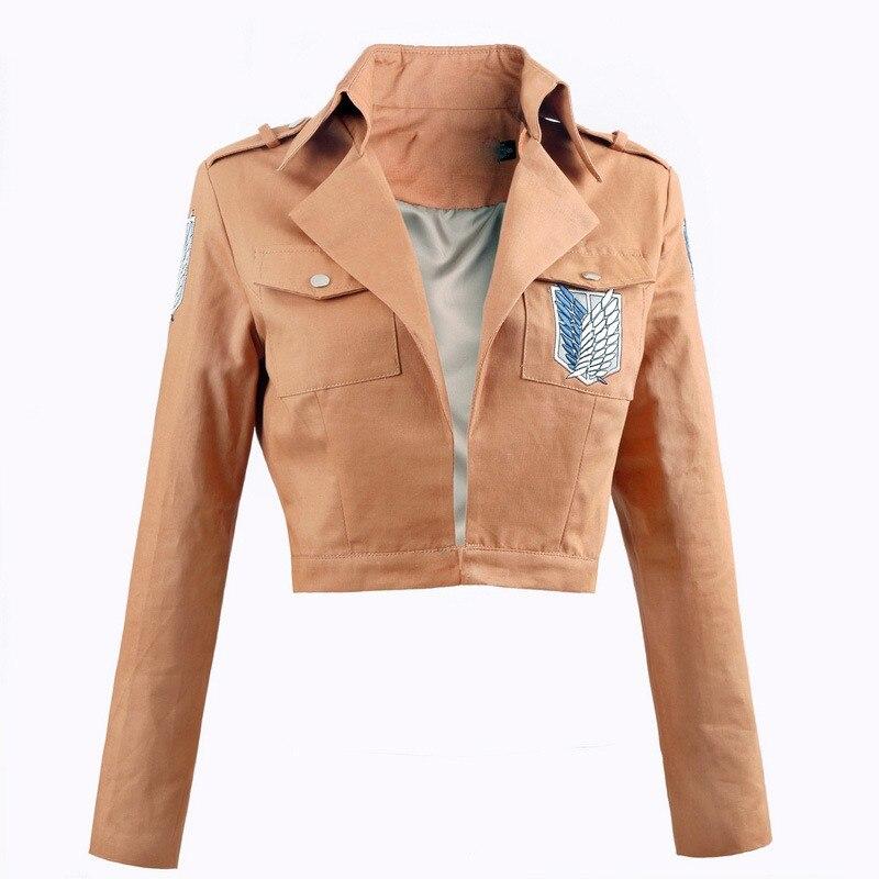 Ainiel Attack on Titan Shingeki no Kyojin Legion Cosplay  Costume Long sleeve Jacket for Women and Men