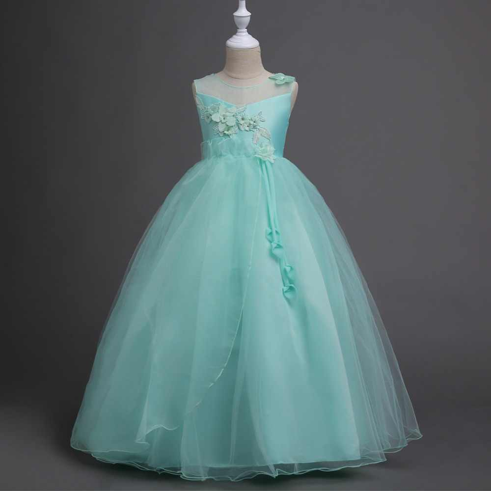 ec331077878f2 Detail Feedback Questions about Teenage Girl Long Princess Appliques ...