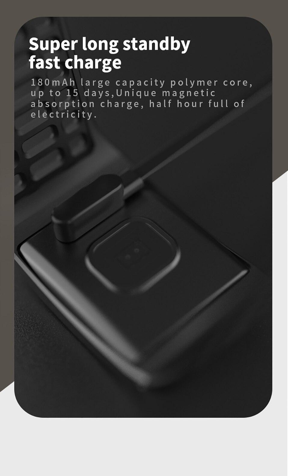 ALANGDUO Z01 Smart Watch Color Screen Smart Wristwatch Big Dials Heart Rate Monitor Micro sensor Waterproof Smart Watch Bracelet (15)