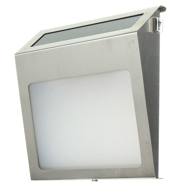 Elegant 20lm Solar 3 LED Licht Außen Haus Adresse Türnummer Türschild Lampe  Wandleuchte Wasserdicht IP44