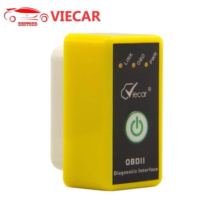 Prix pour MINI ELM327 Viecar OBDII Bluetooth 2.0 avec Interrupteur OBD2 Outil D'analyse OBD2 V1.5 Bluetooth 2.0 Auto Diagnostic Scanner