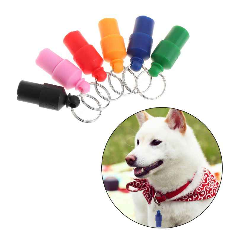 Vật nuôi Thẻ Nhận Dạng Xác Định Thẻ Mặt Dây Chuyền Đầy Màu Sắc Tên Địa Chỉ Số Điện Thoại Dog Cat Chống mất Nhãn Cổ Áo Trang Trí