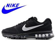 sports shoes c024e 8147f Original Nike Air Max 2017 transpirable de los hombres de la nueva llegada  oficial deportes al aire libre zapatillas de deporte .