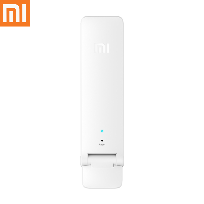 Original New Version Xiaomi WIFI Repeater 2 Amplifier Extender 300Mbps Amplificador Wireless WiFi Router Expander for
