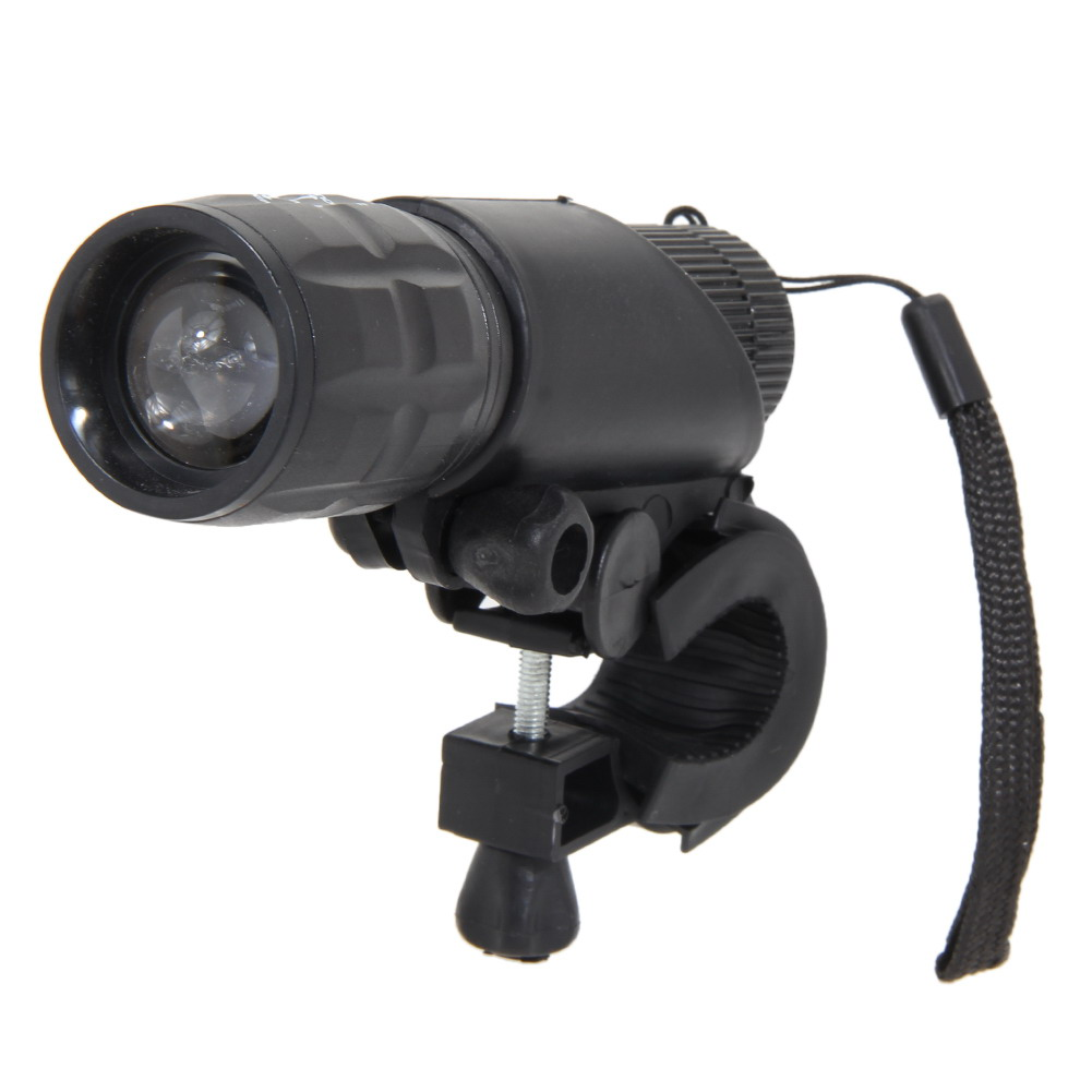 Bicycle light 2000 lumens q5 led bike front waterproof lamp with holder bright degree range 100m