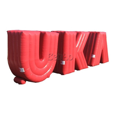 Z063 Hot sale Free shipping  customized size  inflatable logo word for sale/ inflatable letters for company logo on sale