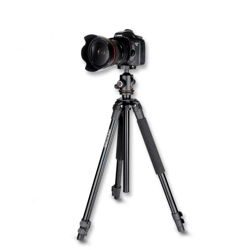 Qzsd Q360 Pro Fotografi Portable Tripod Monopod untuk Digital SLR DSLR Kamera Bepergian Cm Tripod Untuk Canon Nikon Sony