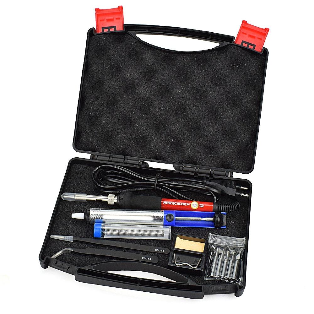 NEWACALOX 60W EU 220V termoregulaatori jootekolbi komplekt - Keevitusseadmed - Foto 4