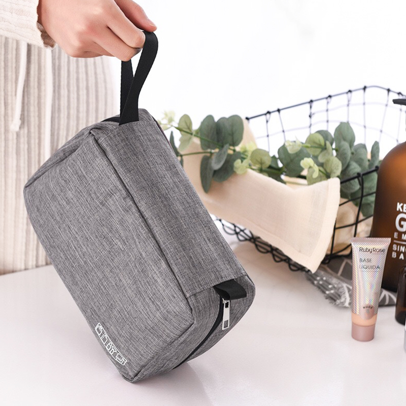Women Men Travel Hanging Cosmetic Bag Makeup Necessary Toiletry Wash Organizer Beauty Vanity Make Up Pouch Luggage Accessories