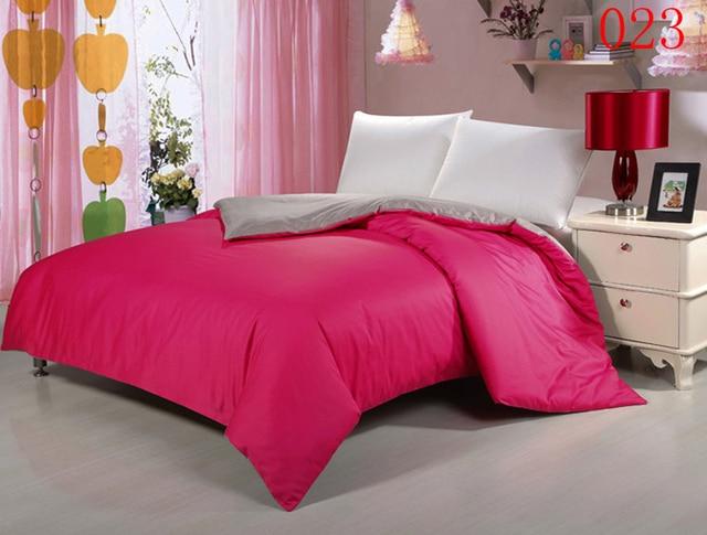 Slaapkamer Rood Grijs : Rose rood grijs slaapkamer thuis stks katoen dekbedovertrek