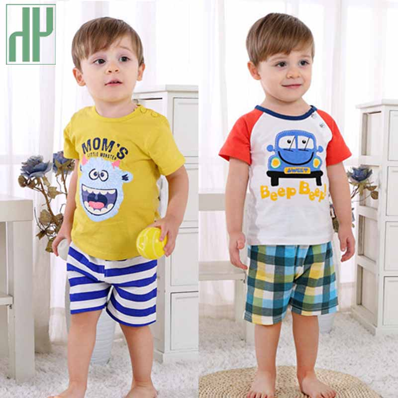 3pcs Children 39 s clothing Print Short Sleeve T shirt Shorts summer toddler girl boy clothes boutique kids clothing tracksuit in Clothing Sets from Mother amp Kids