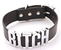 Bitch Choker Women Black Choker Necklace Best Bitch Necklace  3D Word Collar Sexy Choker