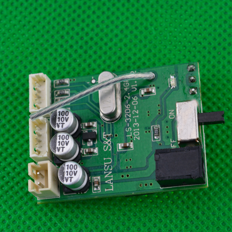 1PCS ESC Receiving Board HBX 2098B Circuit Board Panel for Mini Climbing Car Receiver Accessories1PCS ESC Receiving Board HBX 2098B Circuit Board Panel for Mini Climbing Car Receiver Accessories
