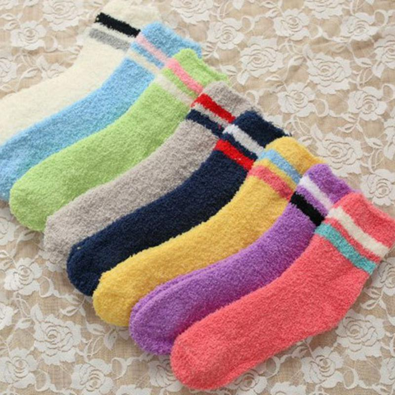 Febelle Sock Women Autumn Winter Soft Plush Fuzzy Socks Multicolor Solid  Sleep Slipper Sock Thick Warm - Online Get Cheap Fuzzy Socks Women -Aliexpress.com Alibaba Group