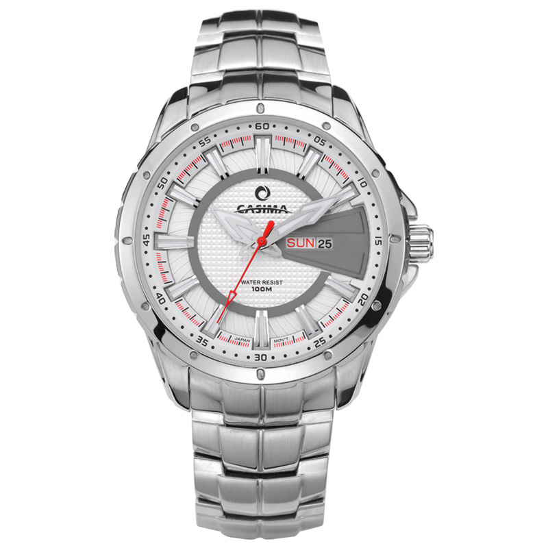 Luxury men's watch quartz watch sports fashion luminous calendar Wrist watches waterproof 100m clock CASIMA #8102