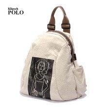 Новый Вышивка печати рюкзак младших школьников сумка женщин Ежедневно Рюкзак Повседневная дорожная сумка Mochila