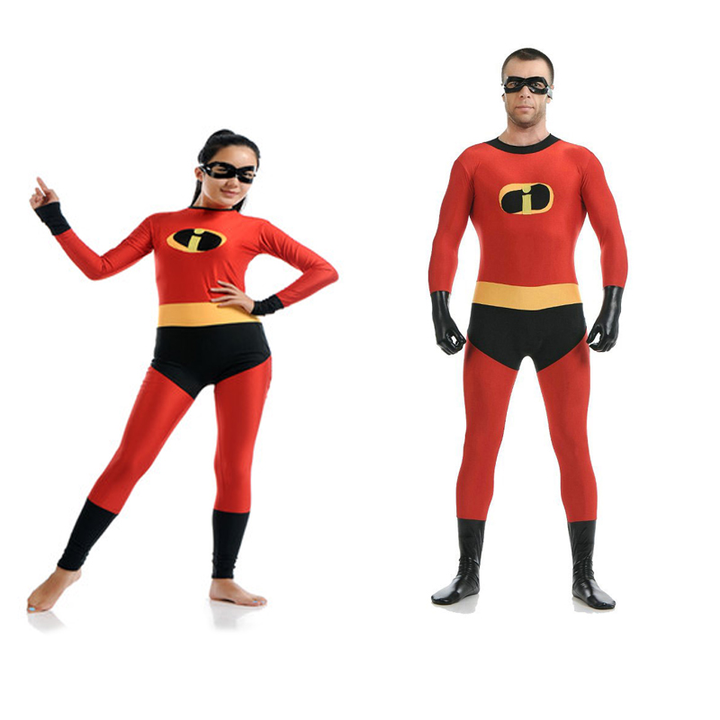 Indestructibles Costume Cosplay Costumes adulte complet corps Lycra Costume Spandex Zentai Body Halloween anniversaire carnaval fête collants