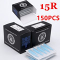 New Disposable Tattoo Tips 150pcs15RT Sterile Assorted Plastic Tattoo Tips Nozzles Tube For Tattoo Machine