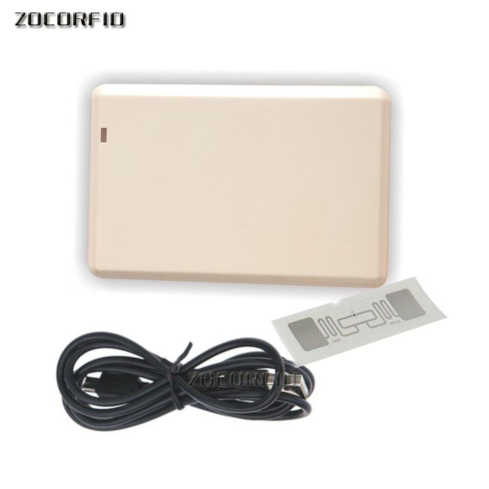 Uhf ISO18000 860Mhz 960Mhz UHF RFID Reader ISO 18000 6C 6B Free Sdk