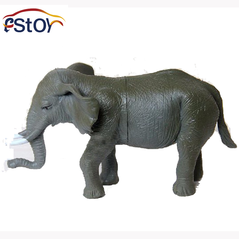 Animal Toys For Boys : Elephant toys action figures model wild animal pvc early