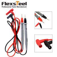 Flexsteel 1000V 10A Universal Digital Multimeter Lead Probe Multi Meter Test Wire Pen Set Cable Needle Tip Probe