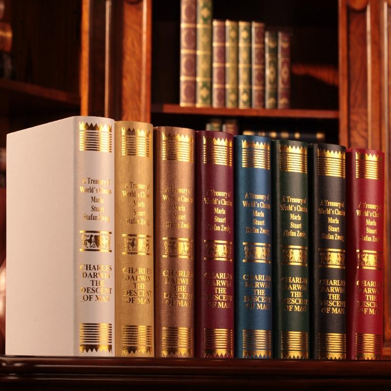 8 St Boek Oumina Europese Darwin Fotografie Bibliotheek Nep Boekenkast Rekwisieten Simulatie Doos Mold Decoratie Boek Uitstekende Eigenschappen