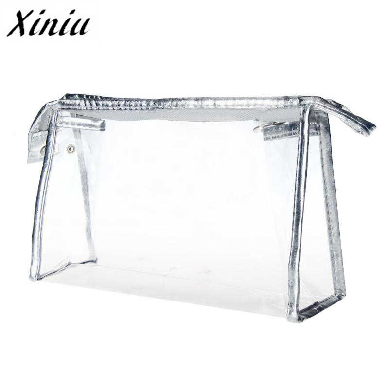 Top Fashion 1PC Clear Waterdichte Opslag Make Zakken PVC cosmetische zak voor make up reizen rangement maquillage Dropshipping # YL5