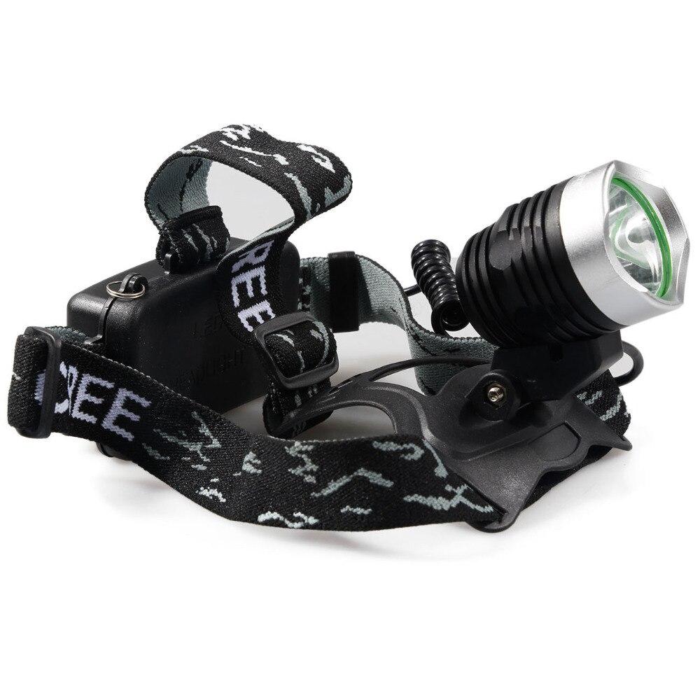 3800LM Wasserdichte CREE XM-L T6 3 Modi Helligkeit Led-scheinwerfer Scheinwerfer Kopf Lampe Licht für Outdoor-Sport