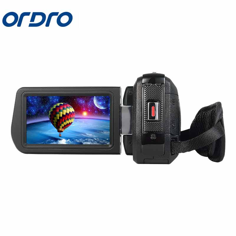 ORDRO 1080P HD Digital Video Camera Max 24MP 4x Digital Zoom 3.0