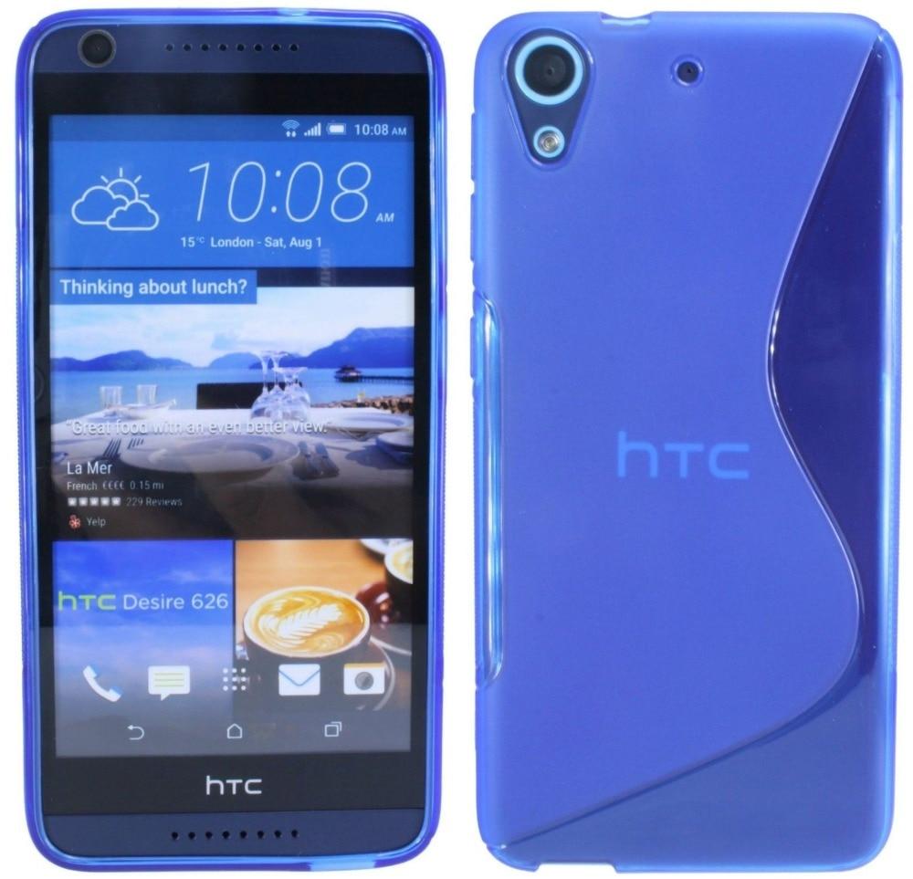 For HTC Desire 626S Case 626 626G+ Dual SIM Cover S Soft Gel Silicon Rubber Case For HTC Desire