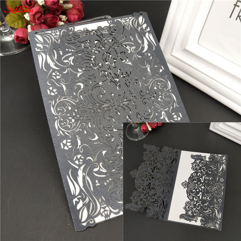 Wedding Invitations Business: 10pcs/lot Wedding Invitations Blank Inner Page Business
