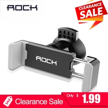 ROCK Car Phone Holder for iPhone 8 X 7 XS Mini Air Vent Moun