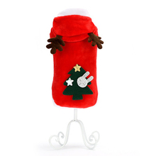 Купить с кэшбэком Dog Sweater Christmas Warm Dog Coat Christmas Dog Clothes Xmas Pull Chien Honden Hoodie Sweter Dla Psa Pets Costumes 5d0084