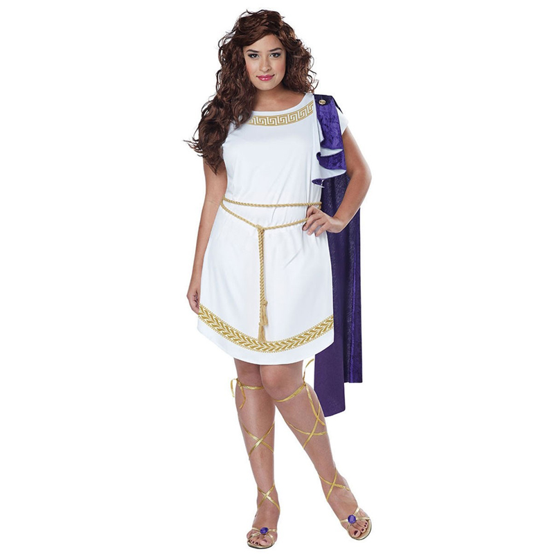 Enfants Filles Déesse Grecque Romaine Toge Costume Déguisement Semaine Du Livre