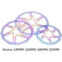 NEW Fouriers 140/160/180/203mm MTB Road Bike Bicycle Brake Disc Floating Rotors