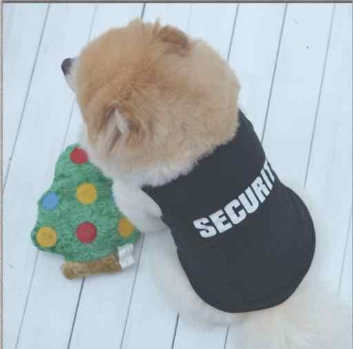 Nova Moda de Verão Bonito Filhote de Cachorro Dog Pet Vest Algodão T Camisa impressão DE SEGURANÇA cachorrinho pano roupas transporte da gota vestido em venda