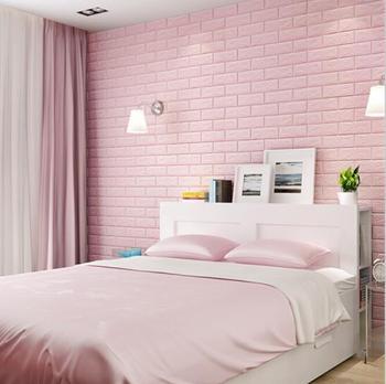 Gran oferta, papel tapiz 3D de espuma PE, pegatinas de pared DIY, decoración de pared, piedra de ladrillo en relieve, papel tapiz para habitación, póster de 70 x 38cm