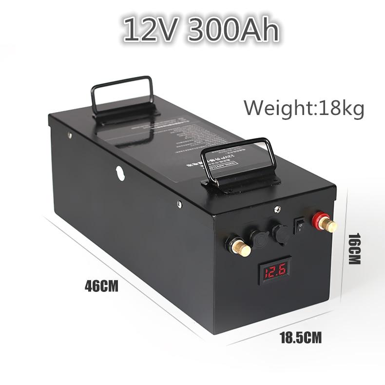 US $902 0 |Aliexpress com : Buy 12V 24V large capacity 200ah 300ah lipo  lithium battery ship engine inverter electric rv battery solar system  storage