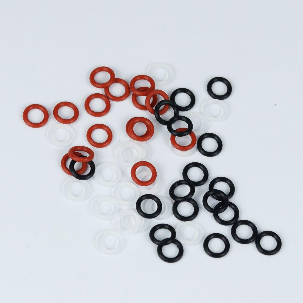 128pcs Cherry MX Rubber O Ring Switch Sound Dampeners With Keycap Switch Puller Keyboard Brush For MX Switch Mechanical Keyboard in Keyboards from Computer Office