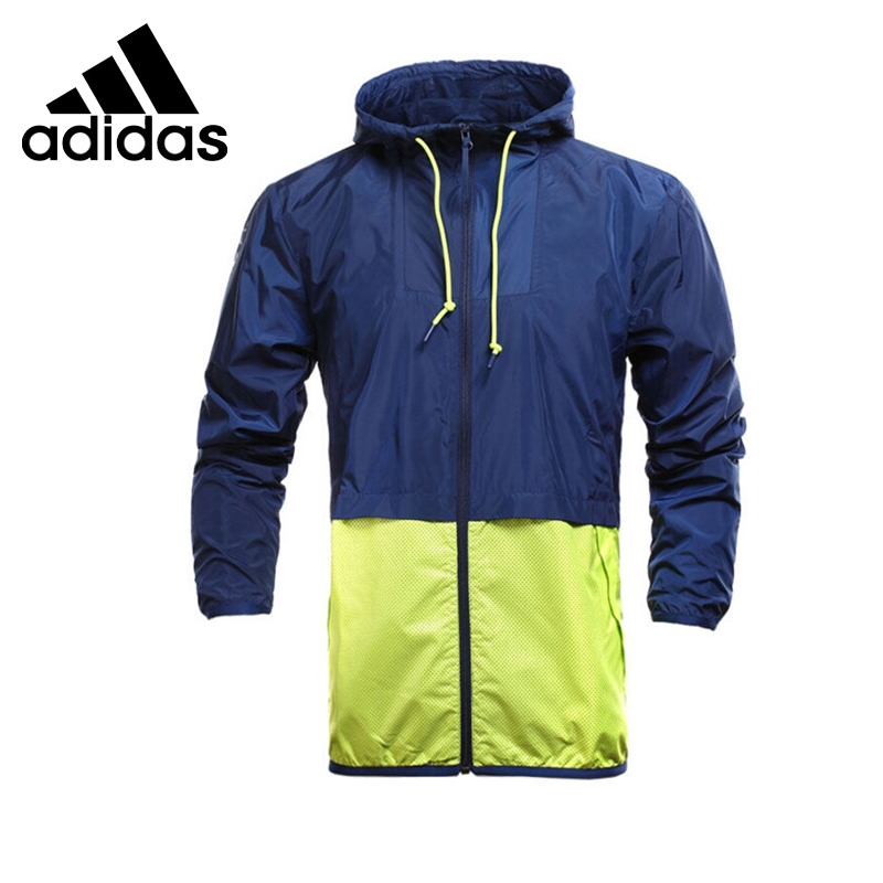 Original New Arrival  Adidas NEO Label Men's  Patchwork Jacket Hooded Windproof Sportswear original new arrival adidas originals women s patchwork jacket hooded sportswear