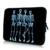 """Crânios 17 """"Computador Notebook à prova d' água Zipper Sacos de Casos de Moda de Nova Bolsa Capa Manga 16.8 17.3 Bolsa Para Laptop de 17.4 polegada Para Rapazes"""