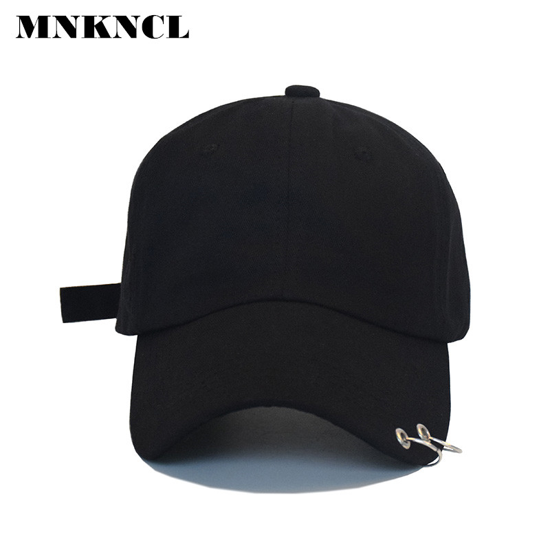 Hot selling 2017 BTS LIVE THE WINGS TOUR Fashion K POP Iron Ring Hats adjustable Baseball cap 100% handmade ring got 7 mark bts suga shinee key kris fashion k pop iron ring hats adjustable baseball cap100% cotton 100% hand made hat