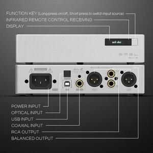 Image 3 - SMSL S.M.S.L SU 8 yüksek çözünürlüklü DAC ES9038Q2M * 2 DSD 64/512 PCM 44.1/768kHz USB/optik/Koaksiyel dekoder