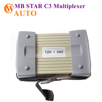 MB STAR C3 Multiplexer Star Diagnosis Full Set With All Cables MB C3 Star Diagnostic Scanner