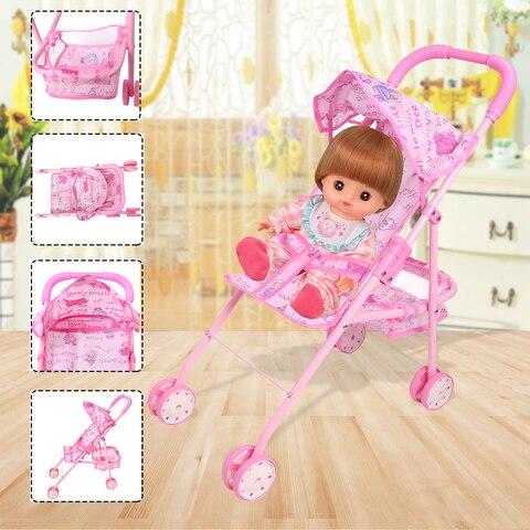 boneca carrinho de crianca dobravel carrinho de crianca carrinho de bebe carrinho de bebe bebe
