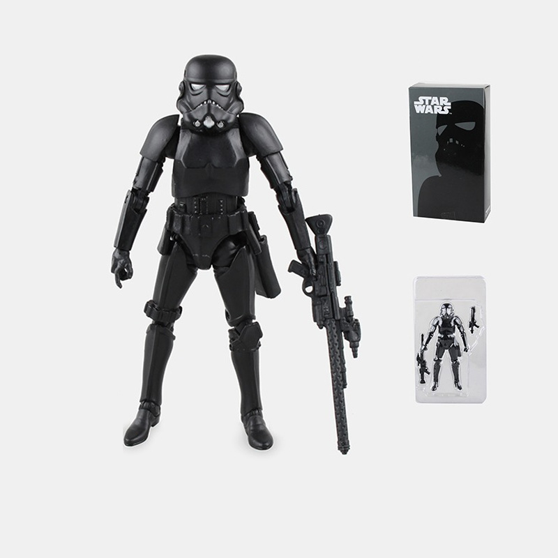 Star Wars The Black Series Darth Vader PVC Action Figure Collectible Ferrite Figma Model Toy 15.5cm Box-Packed 14cm super sonico supersonico movable figma figma ex 023 pvc action figure collectible model toy children toy gift with box