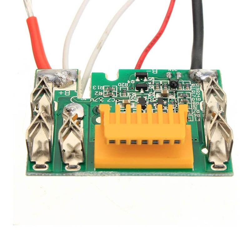 Substituição da placa do pwb da microplaqueta da bateria 18 v para makita bl1830 bl1840 bl1850 l400 @ 8 wwo66