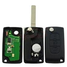 CE0536 Flip remote key 3 button VA2 434Mhz for Peugeot 307 Citroen C4